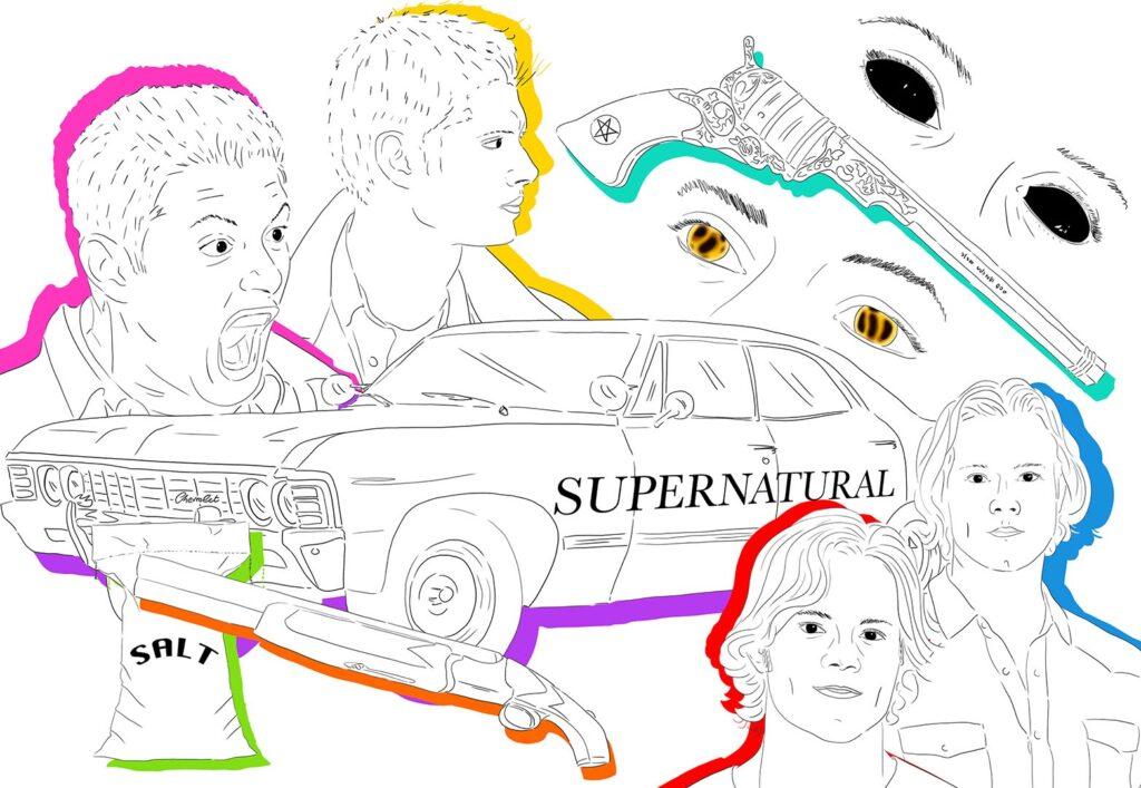 SUPERNATURAL X IMMAGINE