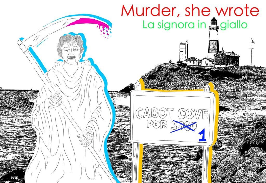 MURDER SHE WROTE X IMMAGGINE