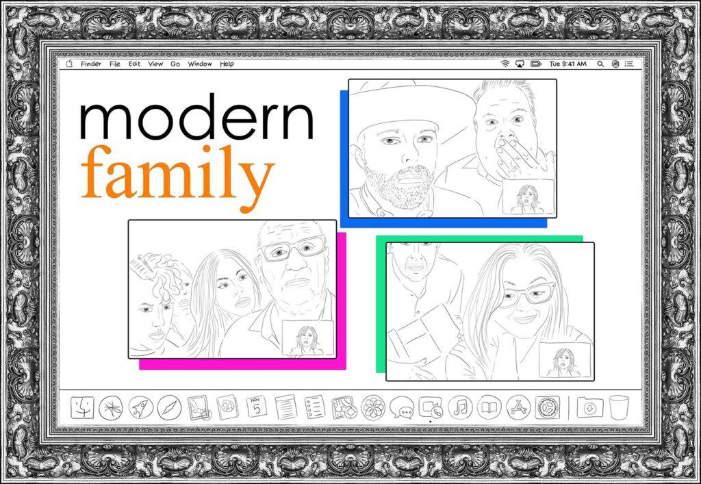 modern family X IMMAGINE