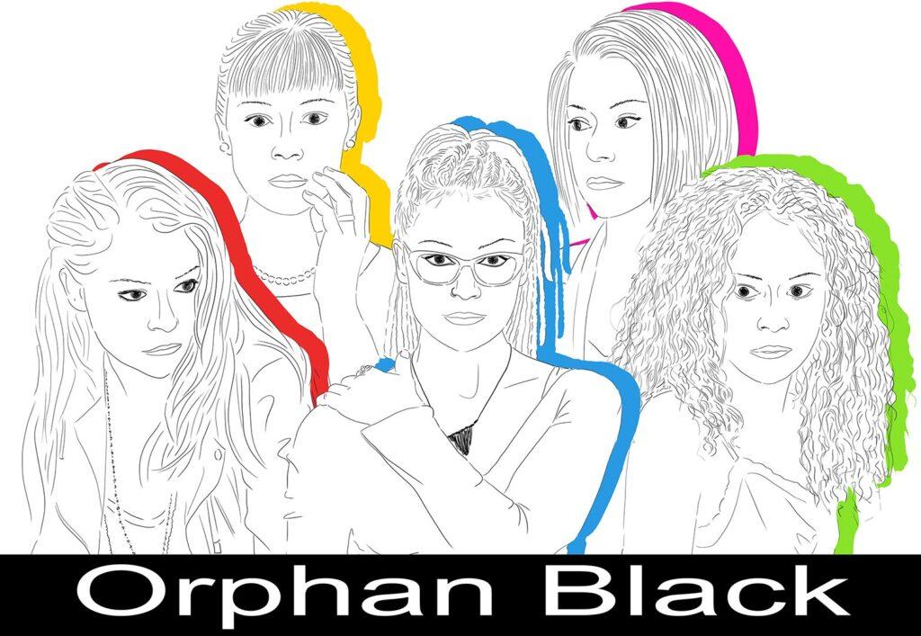 orphan black X IMMAGINE