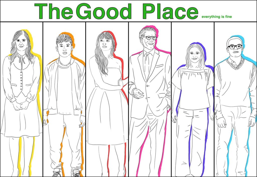 the good place X IMMAGINE